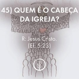 Pergunta 45: Quem é o cabeça da igreja?