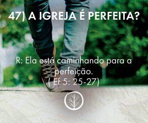 Pergunta 47: A igreja é perfeita?
