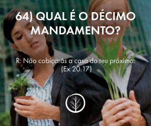 Pergunta 64: Qual é o décimo mandamento?