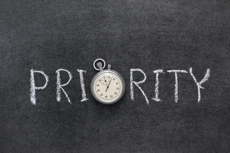 Qual é nossa prioridade?