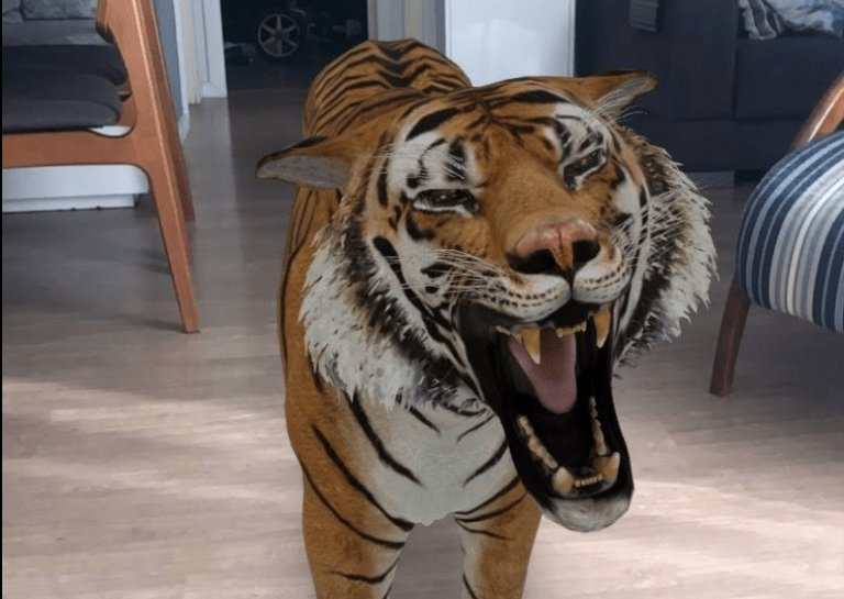 Aplicativo Animais 3D - Realidade Aumentada